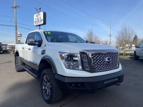 2018 Nissan Titan XD for sale at S&S Best Auto Sales LLC in Auburn WA