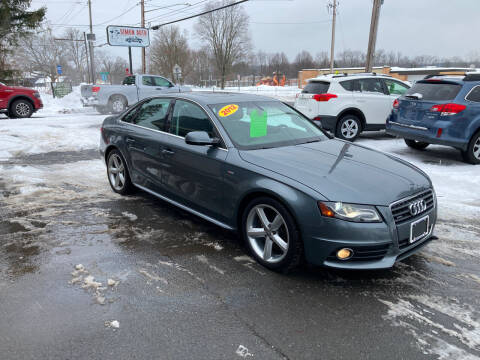 2012 Audi A4 for sale at JERRY SIMON AUTO SALES in Cambridge NY