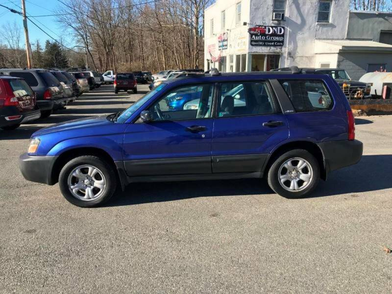 2004 Subaru Forester for sale at DND AUTO GROUP in Belvidere NJ