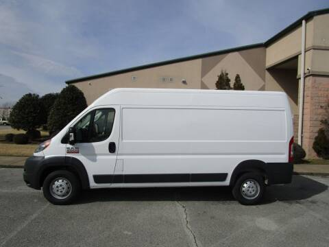 2017 RAM ProMaster Cargo for sale at JON DELLINGER AUTOMOTIVE in Springdale AR