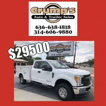 2017 Ford F-250 Super Duty for sale at CRUMP'S AUTO & TRAILER SALES in Crystal City MO