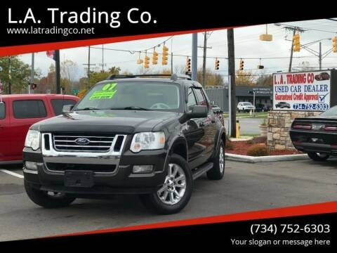 2007 Ford Explorer Sport Trac for sale at L.A. Trading Co. Woodhaven in Woodhaven MI