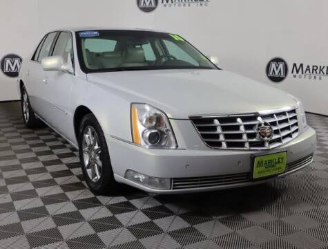 2010 Cadillac DTS for sale at Markley Motors in Fort Collins CO