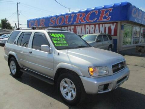 2002 Nissan Pathfinder for sale at CAR SOURCE OKC in Oklahoma City OK