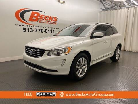 2017 Volvo XC60 for sale at Becks Auto Group in Mason OH