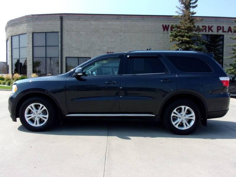 2012 Dodge Durango for sale at Elite Motors in Fargo ND