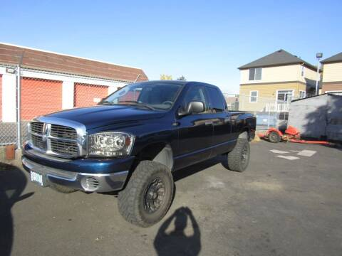 2006 Dodge Ram Pickup 1500 for sale at ARISTA CAR COMPANY LLC in Portland OR