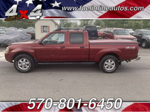 2004 Nissan Frontier for sale at FUELIN FINE AUTO SALES INC in Saylorsburg PA