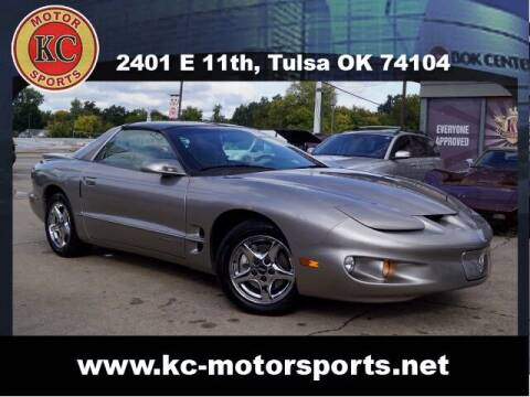 2001 Pontiac Firebird for sale at KC MOTORSPORTS in Tulsa OK