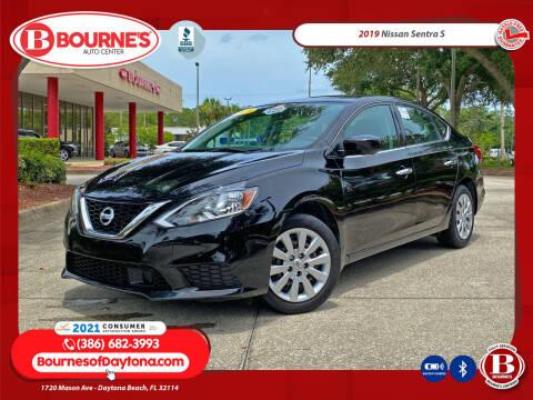 2019 Nissan Sentra for sale at Bourne's Auto Center in Daytona Beach FL