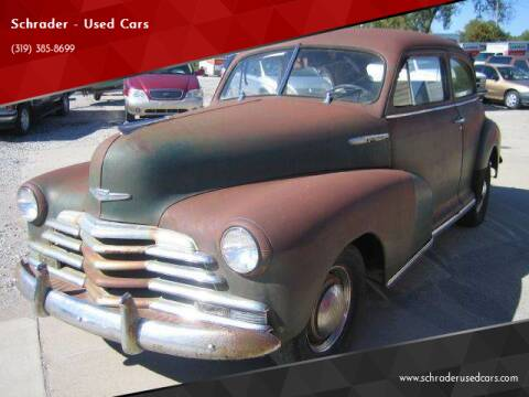 1946 Chevrolet 210 for sale at Schrader - Used Cars in Mt Pleasant IA