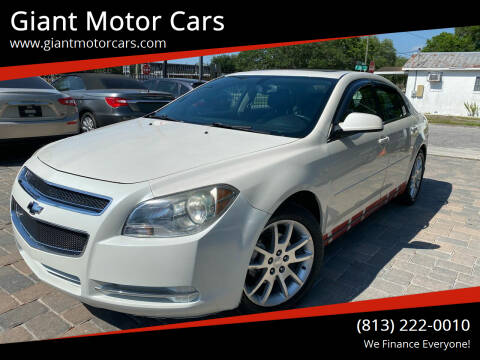 2010 Chevrolet Malibu for sale at Giant Motor Cars in Tampa FL