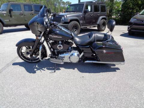 2015 HARLEY DAVIDSON STREET GLIDE for sale at BALKCUM AUTO INC in Wilmington NC