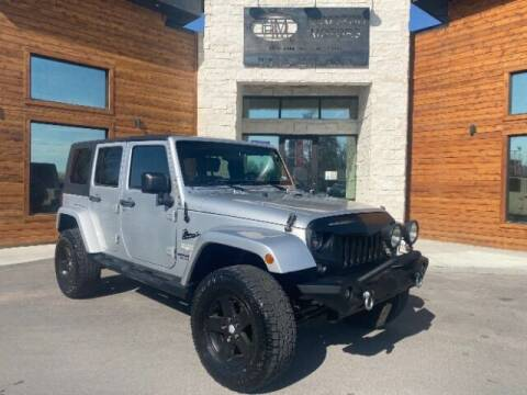 2010 Jeep Wrangler Unlimited for sale at Hamilton Motors in Lehi UT