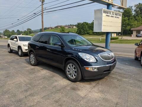 2012 Buick Enclave for sale at Route 22 Autos in Zanesville OH