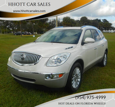 2010 Buick Enclave for sale at HHOTT CAR SALES in Deerfield Beach FL
