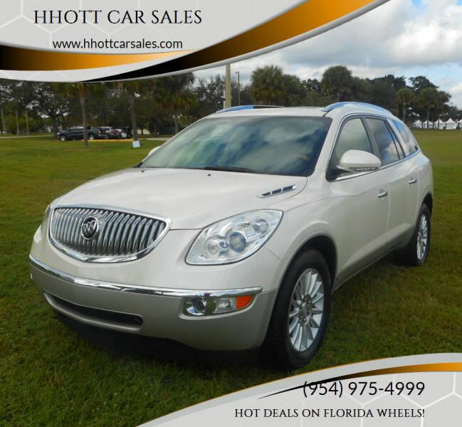 2010 Buick Enclave for sale at HHOTT CAR SALES in Deerfield Beach FL