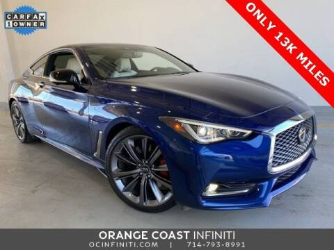 2019 Infiniti Q60 for sale at ORANGE COAST CARS in Westminster CA