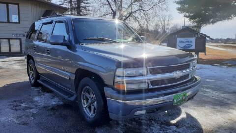 2001 Chevrolet Tahoe for sale at Shores Auto in Lakeland Shores MN