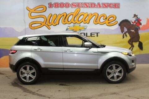 2013 Land Rover Range Rover Evoque for sale at Sundance Chevrolet in Grand Ledge MI