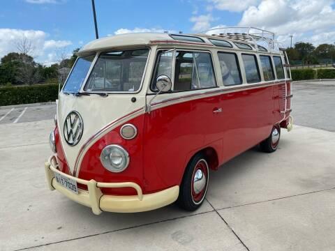1975 Volkswagen Bus for sale at American Classics Autotrader LLC in Pompano Beach FL