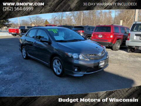 2011 Toyota Corolla for sale at Budget Motors of Wisconsin in Racine WI