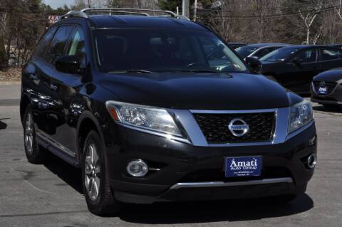2013 Nissan Pathfinder for sale at Amati Auto Group in Hooksett NH