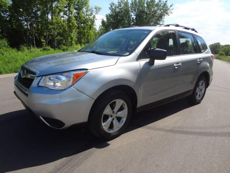 2015 Subaru Forester for sale at Garza Motors in Shakopee MN