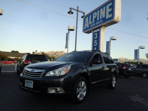 2011 Subaru Outback for sale at Alpine Auto Sales in Salt Lake City UT