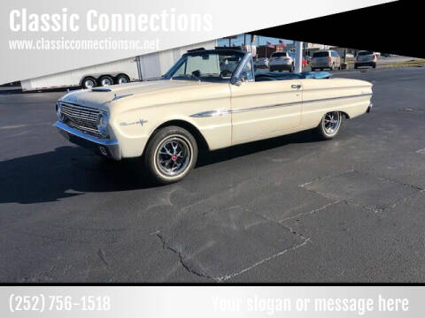 1963 Ford Falcon Sprint for sale at Classic Connections in Greenville NC
