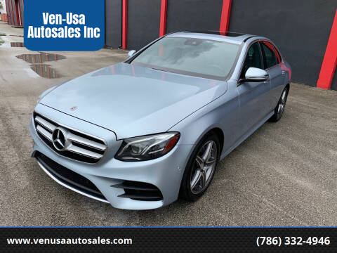 2018 Mercedes-Benz E-Class for sale at Ven-Usa Autosales Inc in Miami FL