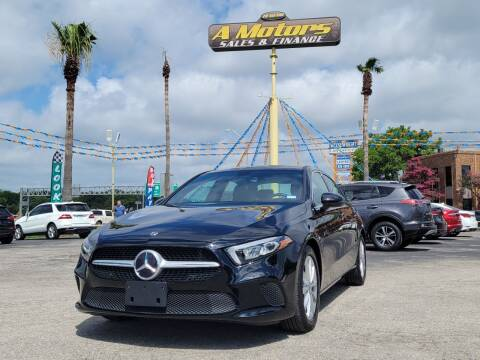 2020 Mercedes-Benz A-Class for sale at A MOTORS SALES AND FINANCE in San Antonio TX