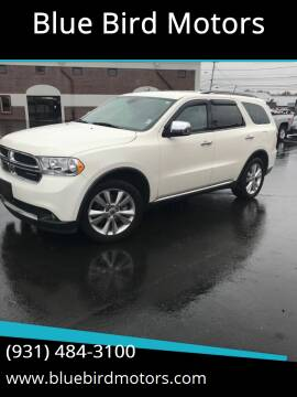 2011 Dodge Durango for sale at Blue Bird Motors in Crossville TN