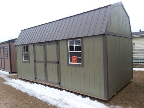 2018 PREMIER Portable Building's 10X20 Urethane Side LoftedBarn for sale at Dave's Auto Sales & Service in Weyauwega WI