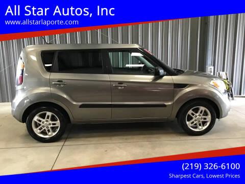 2011 Kia Soul for sale at All Star Autos, Inc in La Porte IN
