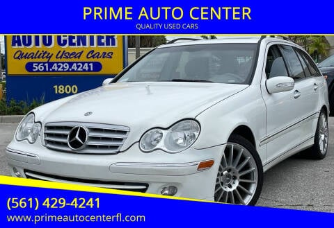 2005 Mercedes-Benz C-Class for sale at PRIME AUTO CENTER in Palm Springs FL
