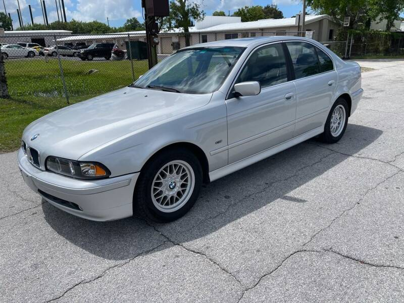 2002 BMW 5 Series for sale at Ultimate Autos of Tampa Bay LLC in Largo FL