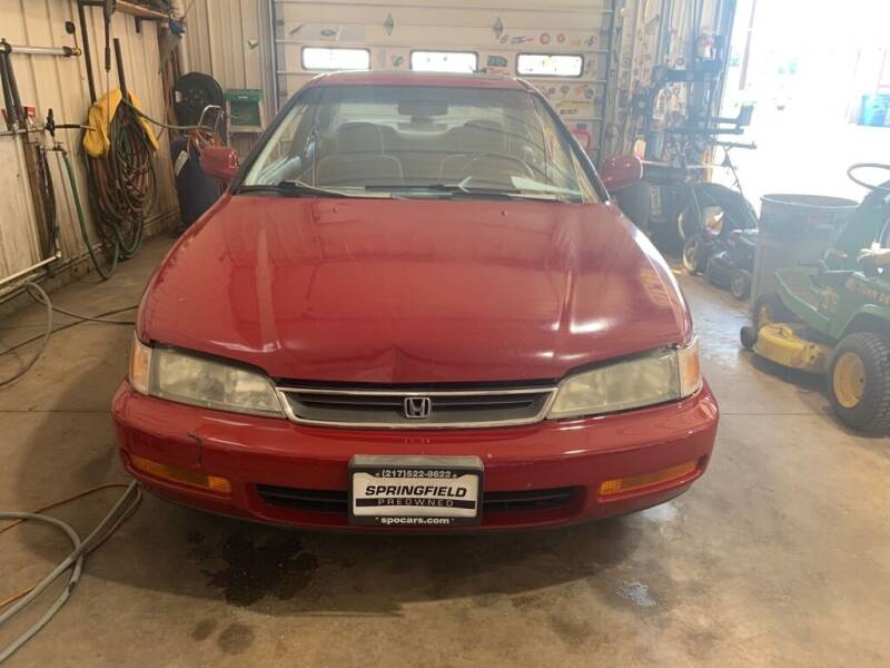1997 Honda Accord for sale at SPRINGFIELD PRE-OWNED in Springfield IL