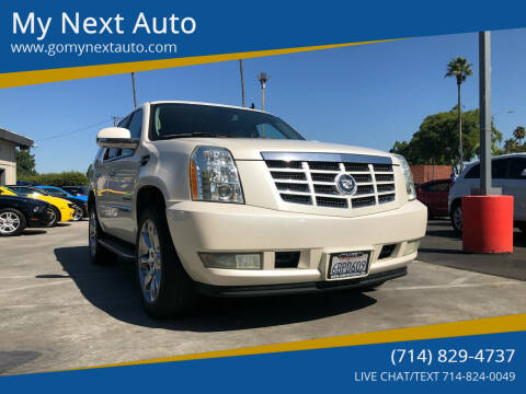2007 Cadillac Escalade for sale at My Next Auto in Anaheim CA