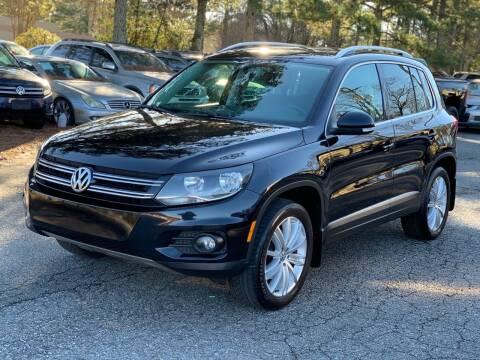 2013 Volkswagen Tiguan for sale at MVP Auto LLC in Alpharetta GA