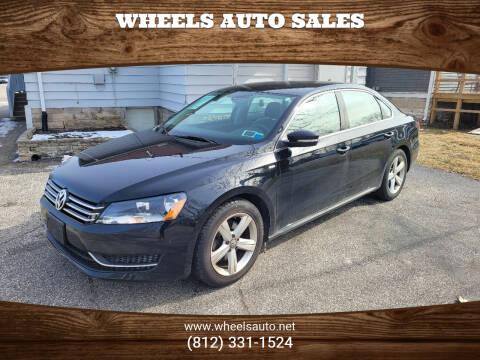 2014 Volkswagen Passat for sale at Wheels Auto Sales in Bloomington IN