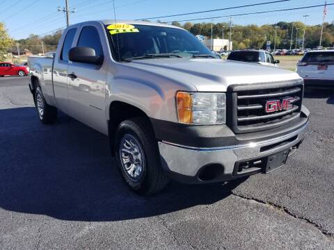 2012 GMC Sierra 1500 for sale at Moores Auto Sales in Greeneville TN