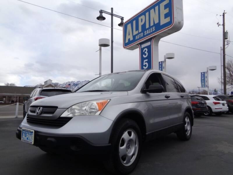 2007 Honda CR-V for sale at Alpine Auto Sales in Salt Lake City UT