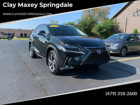 2020 Lexus NX 300 for sale at Clay Maxey Springdale in Springdale AR