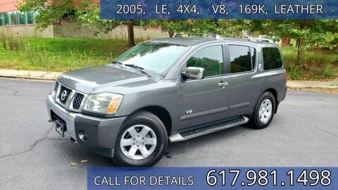 2005 Nissan Armada for sale at Wheeler Dealer Inc. in Acton MA