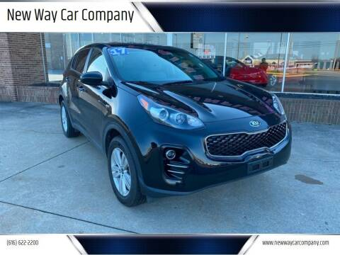 2017 Kia Sportage for sale at New Way Car Company in Grand Rapids MI