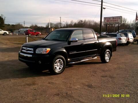 2006 Toyota Tundra for sale at Tom Boyd Motors in Texarkana TX