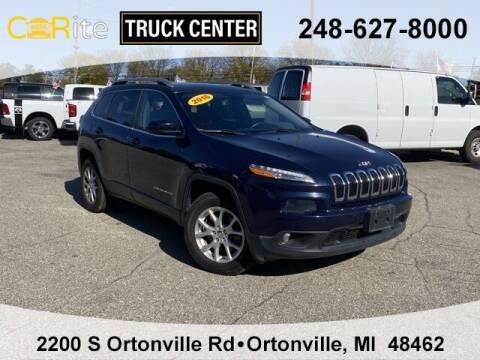 2016 Jeep Cherokee for sale at Carite Truck Center in Ortonville MI