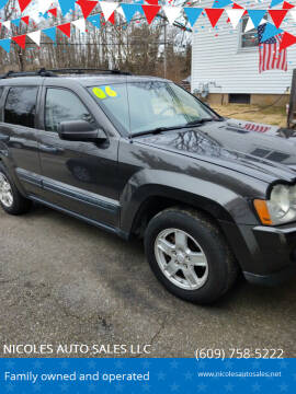 2006 Jeep Grand Cherokee for sale at NICOLES AUTO SALES LLC in Cream Ridge NJ