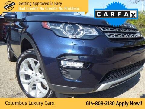 2017 Land Rover Discovery Sport for sale at Columbus Luxury Cars in Columbus OH
